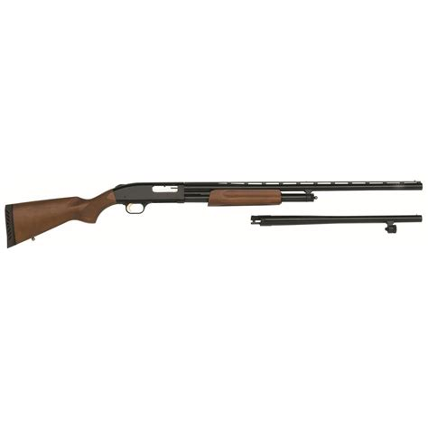 Mossberg 500 12 Gauge Combo Pump Shotgun And Mossberg 500 20 Gauge Buds