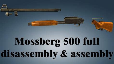 Mossberg 500 Complete Trigger Disassembly