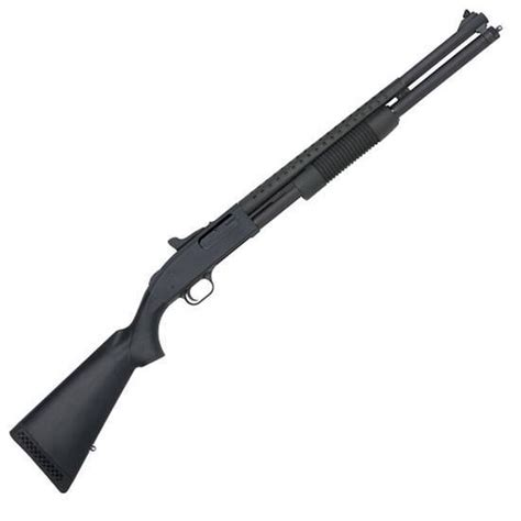 Mossberg 500 Tactical 20in 12 Gauge Blue Black Synthetic