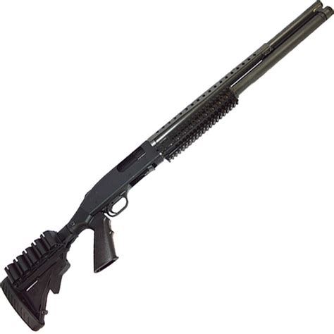 Mossberg Model 500 Tactical Tri Rail Pump Action Shotgun