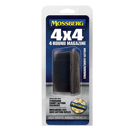 Mossberg Patriot Magazine Short Action 4 Round Brownells