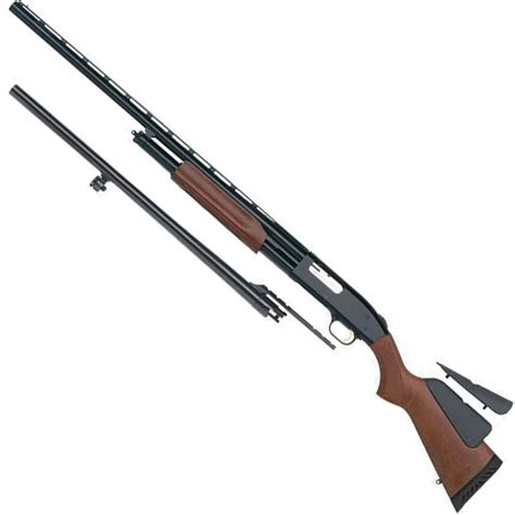 Mossberg Pump Shotgun Combo