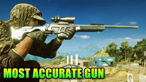 Most Accurate Sniper Rifle Bf4