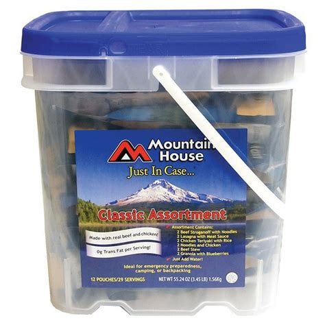 Mountain House Just In Case Bucket - Classic Assortment