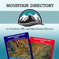 Mountain directory: a guide for truckers, rv and motorhome drivers guides