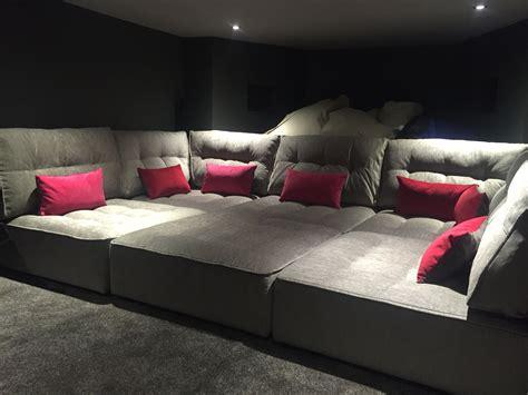 Movie Theater Sofa Design Ideas