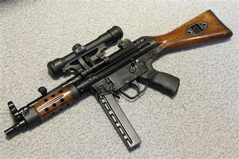 Mp5 10 Submachine Gun Laser Target