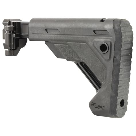 Mpx Mcx Collapsible Stock 1913 Interface Black Sig Sauer