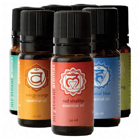 MrSteam Essential Oils (Set of 5)
