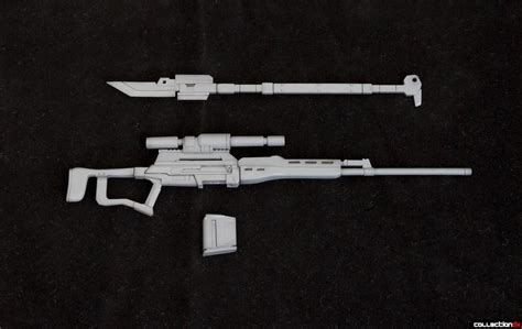 Msg Weapon Unit Mw009 Long Handled Sword Sniper Rifle