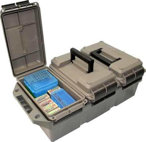Mtm 3can Ammo Crate By Casegard Ac4c Plastic 30