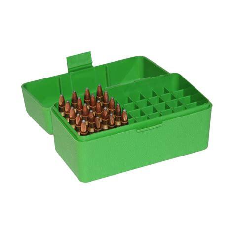 Mtm 50 Round Fliptop Rifle Ammo Box 222 To 222 Mag