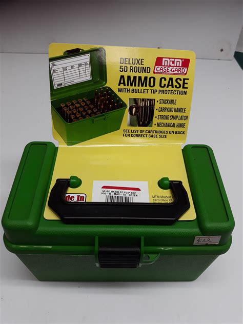 Mtm Ammo Box For 257 Weatherby