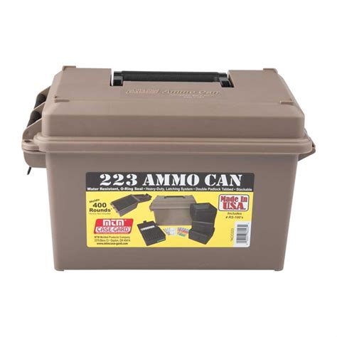 MTM AMMO CAN 223 POLYMER TAN Brownells