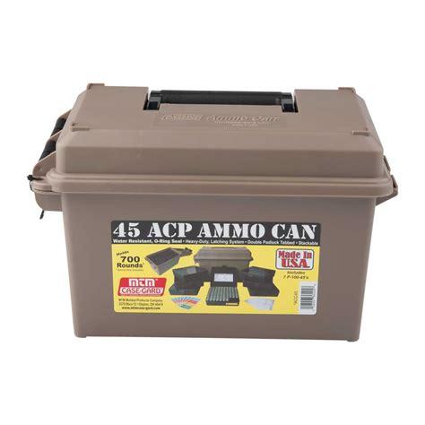Mtm Ammo Can 45acp Polymer Tan Brownells Uk