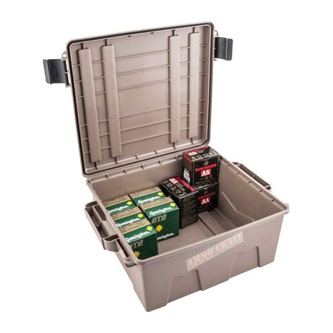 Mtm Ammo Crate Deep Polymer Dark Earth Brownells Norge
