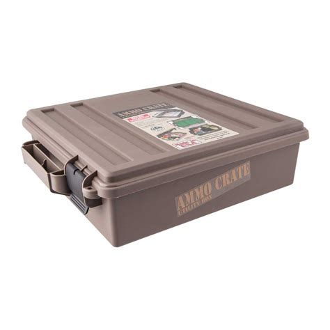 Mtm Ammo Crate Polymer Dark Earth Brownells