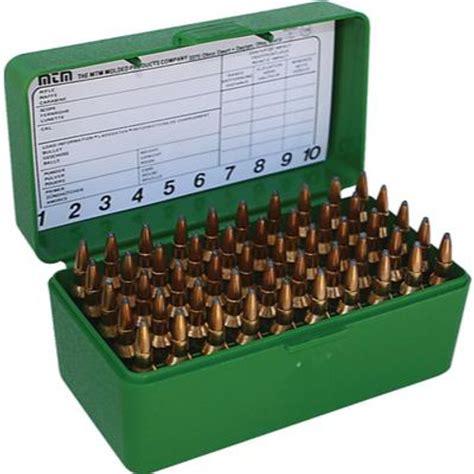 Mtm Caseguard R50 50 Round Fliptop Rifle Ammo Boxes