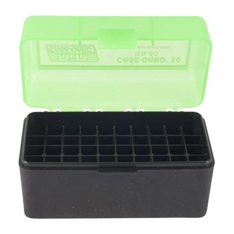 Mtm Rifle Ammo Boxes Ammo Boxes Rifle Green 17 Remington 256 Winchester Mag 50