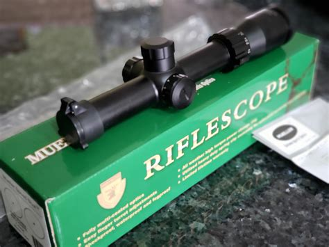 Mueller Speed Shot Rifle Scope Review