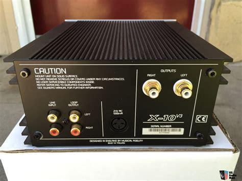 Musical Fidelity X10 V3 Tube Output Buffer