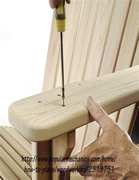 muskoka chair plans.aspx Image