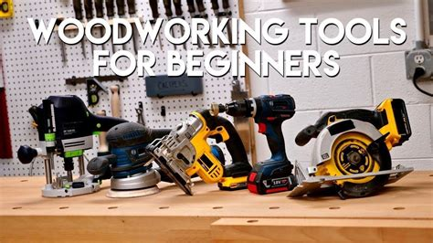 Must have power tools for woodworking Image