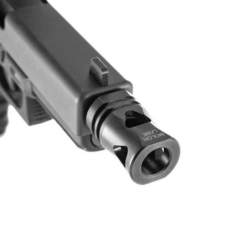 Muzzle Brake On Pistol With Non Threaded Barrel