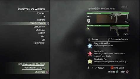 Mw3 Best Sub Rifle Class Setup