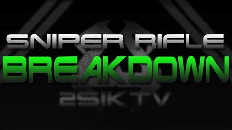 Mw3 Sniper Rifle Comparison