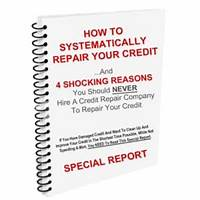 My credit repair university offer