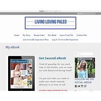 My ebook living loving paleo discount