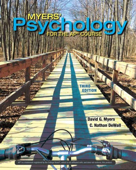 Myers Psychology For Ap Pdf 2011