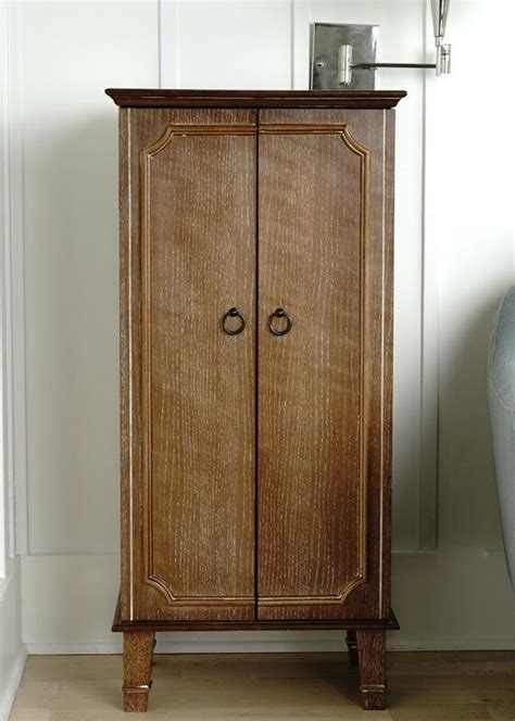 Myrtle Free Standing Jewelry Armoire with Mirror