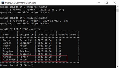 Mysql Create Trigger Example