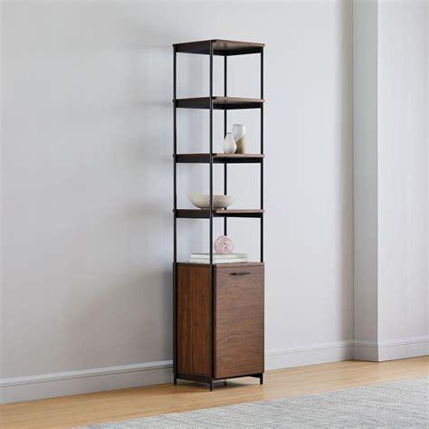 Narrow bookshelves australia Image