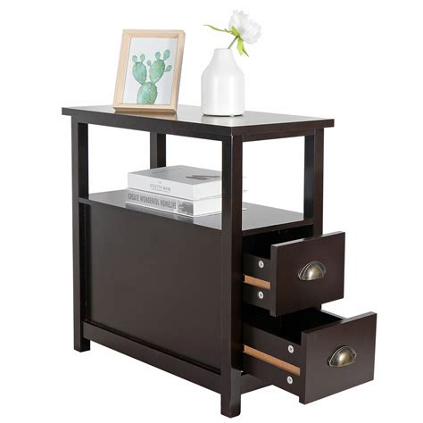 Narrow Side Tables For Living Room Image