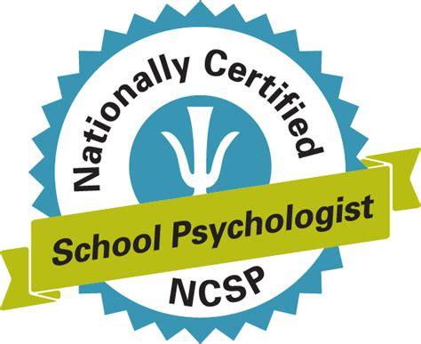 Nationally Certified School Psychologist Ncsp