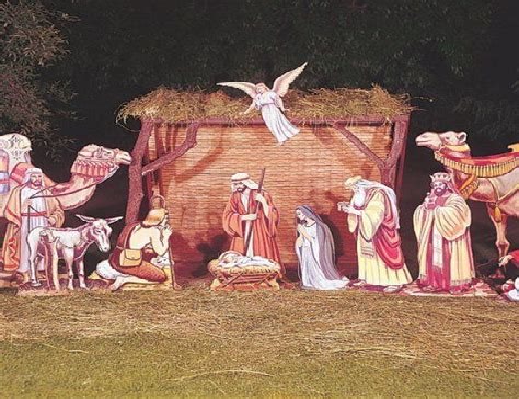 Nativity scene plans Image