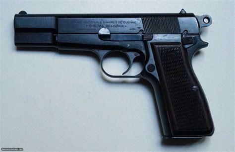 Nazi Marked FN Belgian Browning Hi-Power C R OK Lock