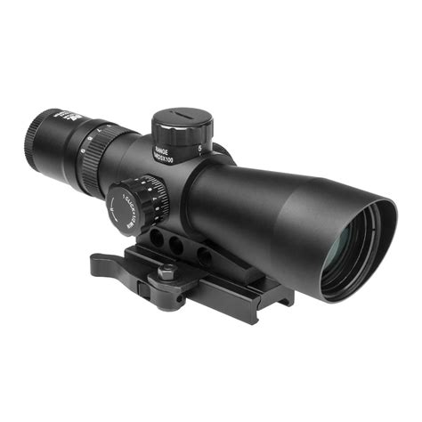 Ncstar Mark Iii 3-9x42 Rubber Rifle Scope With Laser