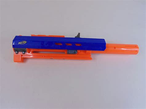 Nerf Longstrike Cs 6 Barrel Extension And Ak47 2 Inch Barrel Extension