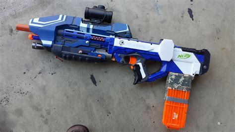 Nerf Ma5b Halo Assault Rifle