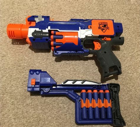Nerf Rifle That Has A Removable Stock