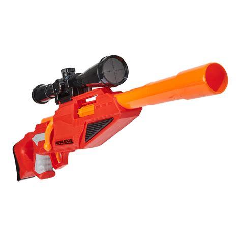 Nerf Sniper Rifle At Target