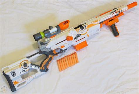 Nerf White Sniper Rifle