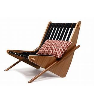 Neutra Boomerang Chair Plans