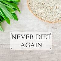 Coupon code for never diet again!