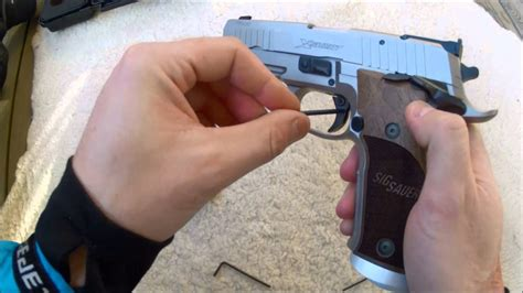 New 2014 Sig Sauer X5 Short Classic Unboxing Recoil Test