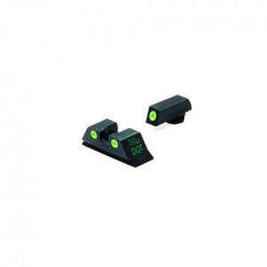 New Meprolight Glock 10mm 40sw 45acp Night Sights Green Ml